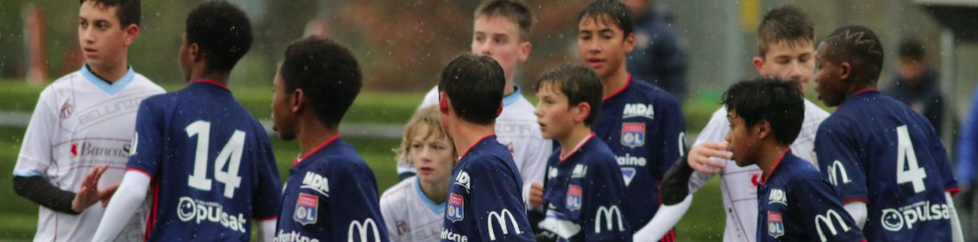 photos de jeunes joueurs pour l'article sur la scolarité de positive football
